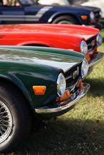 Details Of Vintage British Cars, Fender, Wheel, An