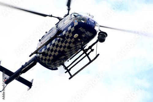 helicopter Billede på lærred