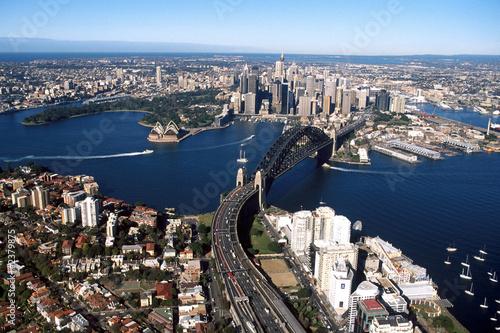 Fotografia  sydney harbour 001
