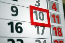 Satruday Night Party Calendar