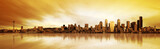 Panorama Seattle w pełnym słońcu