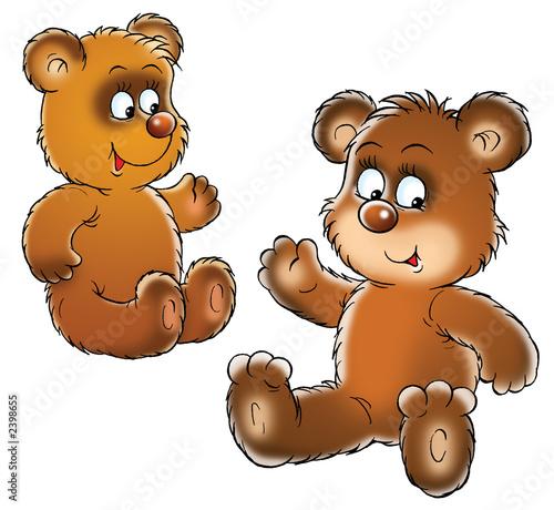 Foto-Stoff - bears (von Alexey Bannykh)