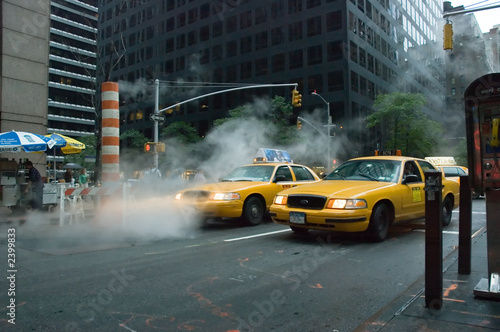 Staande foto New York TAXI yellow cab