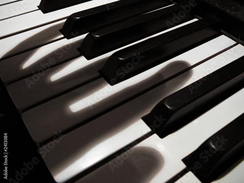 Canvas Print phantom musician #3