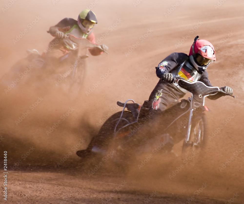 Fotografía  speedway rennen