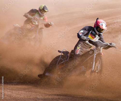 Poster Motorsport speedway rennen
