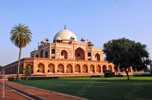 Stickers pour porte Delhi india, delhi: humayun tomb