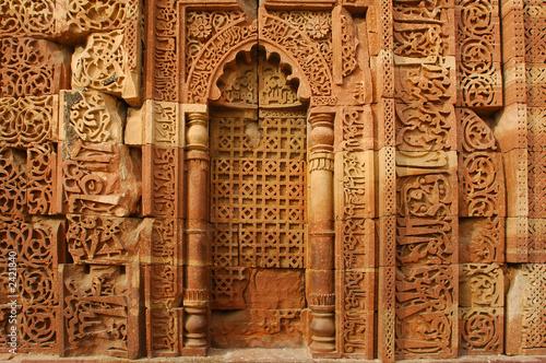 Stickers pour portes Delhi india, delhi: humayun tomb