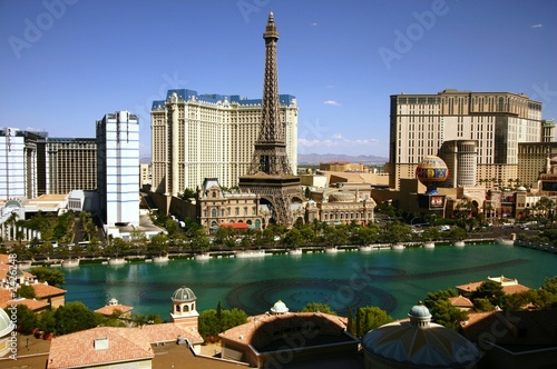 Photo sur Toile Las Vegas casinos las vegas