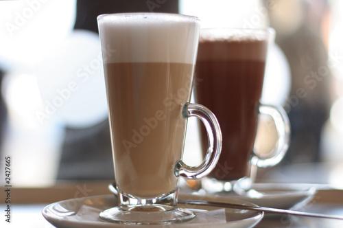 Fotografie, Obraz  cafe - latte