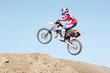 Leinwandbild Motiv extreme motocross sports