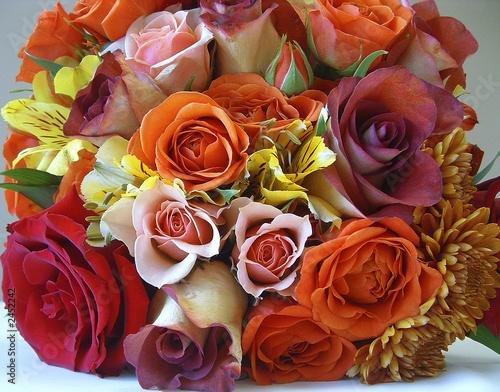Fotografie, Obraz  rose bouquet