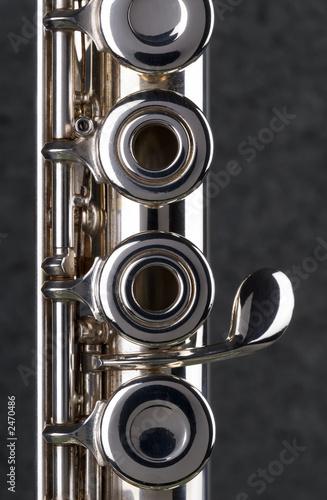 Photo silver flute.