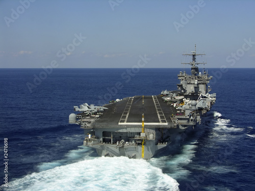 aircraft carrier Wallpaper Mural