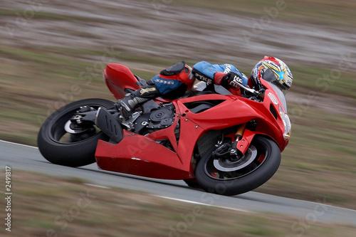 Photo motorbike racing