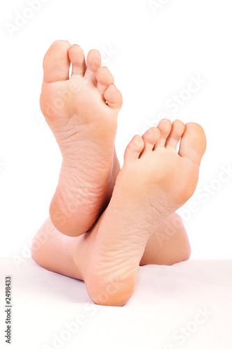 Fotografie, Obraz  ženě nohy