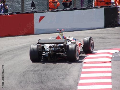 Deurstickers F1 f1 en course