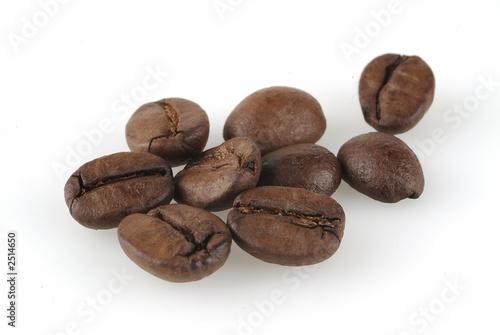 Spoed Foto op Canvas Koffiebonen caffe