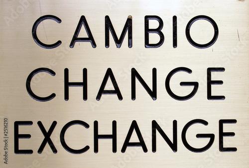 cambiste et taux de change