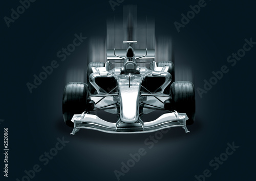 Photo sur Aluminium F1 formula one, speed concept