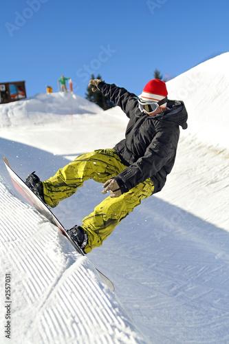 Fényképezés snowpark