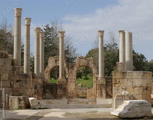 colonnes de leptis magna