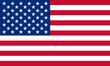 Leinwandbild Motiv usa fahne united states flag
