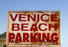 An Old Weathered Venice Beach ...