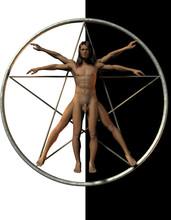 El Hombre  Vitruvio
