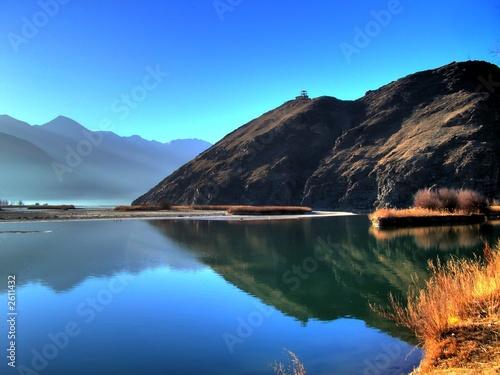 Foto Rollo Basic - tibetan lake