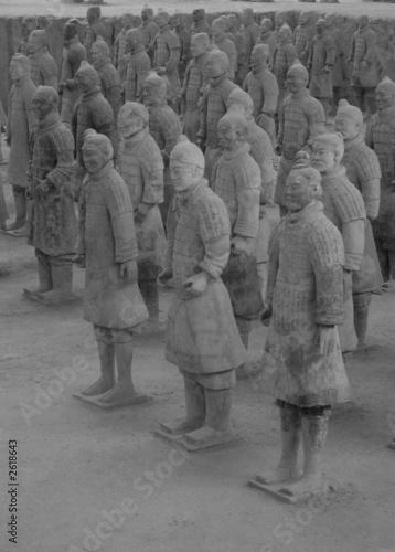 Foto op Plexiglas Xian terracotta soldiers