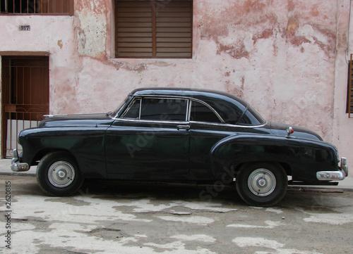 Türaufkleber Autos aus Kuba 1950 cuba car