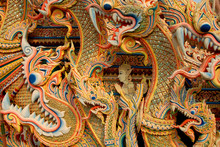 Asian Dragon Background