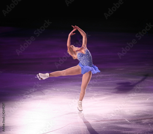 figure skater Tablou Canvas