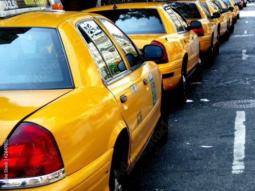 Spoed Foto op Canvas New York TAXI new york, new york