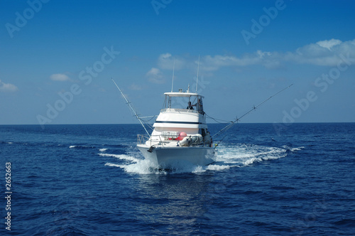 Photo Stands Caribbean fishing boat