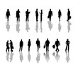 canvas print picture - business people 2