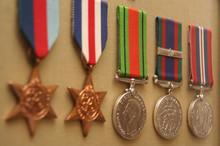 Assorted War Medals