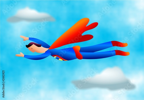 Foto  superhero