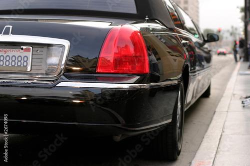 Photographie  Limousine à la promenade de la renommée, boul.