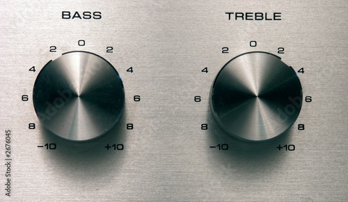 Canvas bass and treble