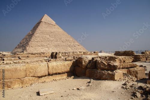 In de dag Egypte the pyramid in egypt