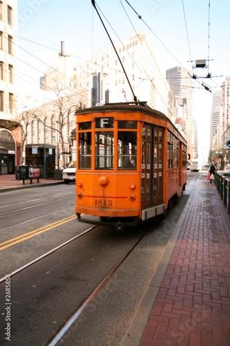 Keuken foto achterwand San Francisco san francisco trolly car