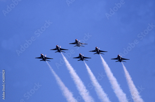 air force jets Canvas Print