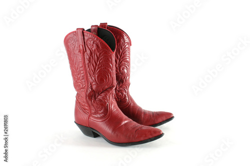 Valokuva  red western boots
