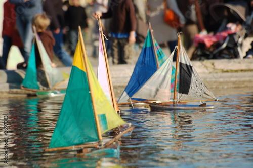 Fotografie, Obraz  petits bateaux