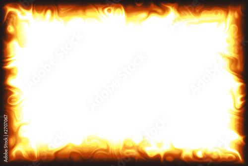 Obraz flame border - fototapety do salonu