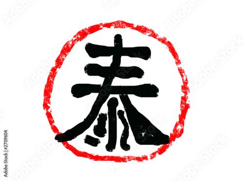 Fotografie, Obraz  chinese sign