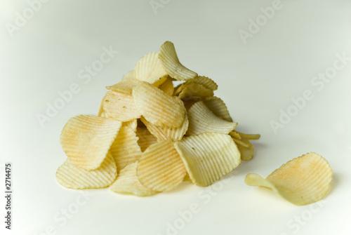 Fotografiet  heaps of chips