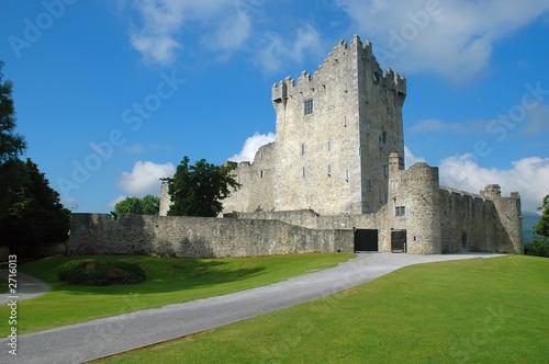 Poster Landscapes old irish castle